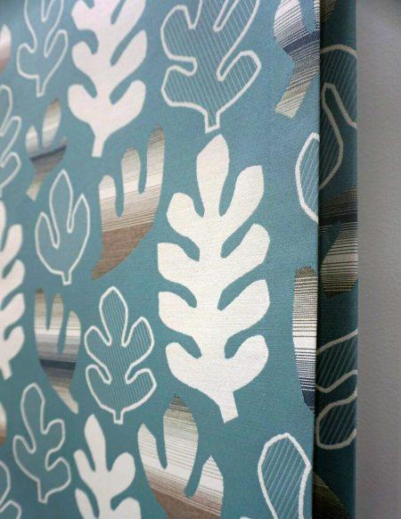 Brentano pattern of Sunbrella Contract fabric