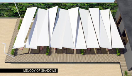 Melody of Shadows Shade Structure