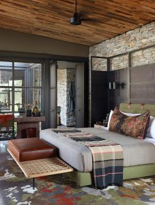 The andBeyond Tengile River Lodge creates hospitality design that makes guests feel at home using Sunbrella Contract.
