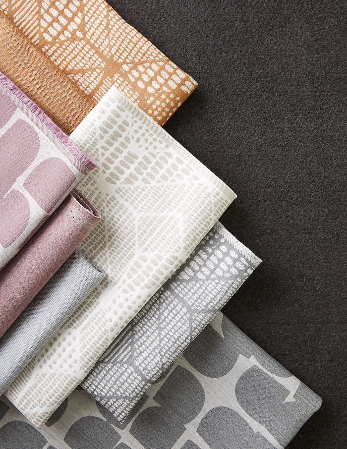 The Origins Collection is offered in a variety of colors, ranging from warm neutral tones to cool greys and blues.