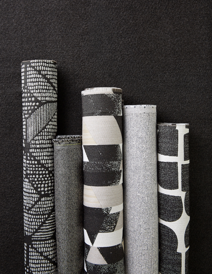 Classic black and white pairings are timeless and offer bold contrast to create dynamic commercial design.