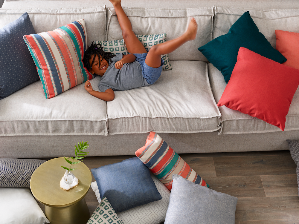 kid friendly sofas